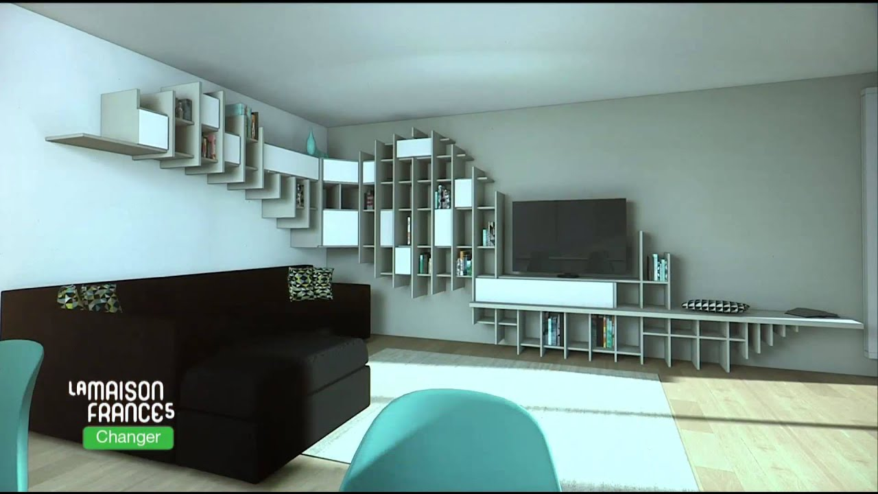 emission 408 la maison france 5 r alisation eric do youtube. Black Bedroom Furniture Sets. Home Design Ideas