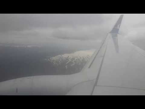 Landing at Erzurum Airport (ERZ) B737-800
