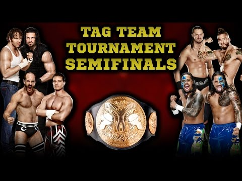 WWE 2K15 - Tag Team Tournament Semifinals | Universe Mode Special [PS4]