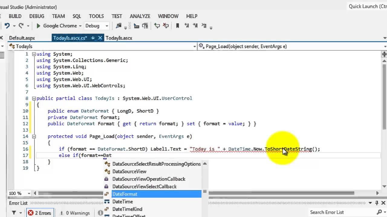 Asp net mvc online tutorial.