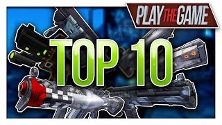 Borderlands 2 | Top 10 Rarest Weapons