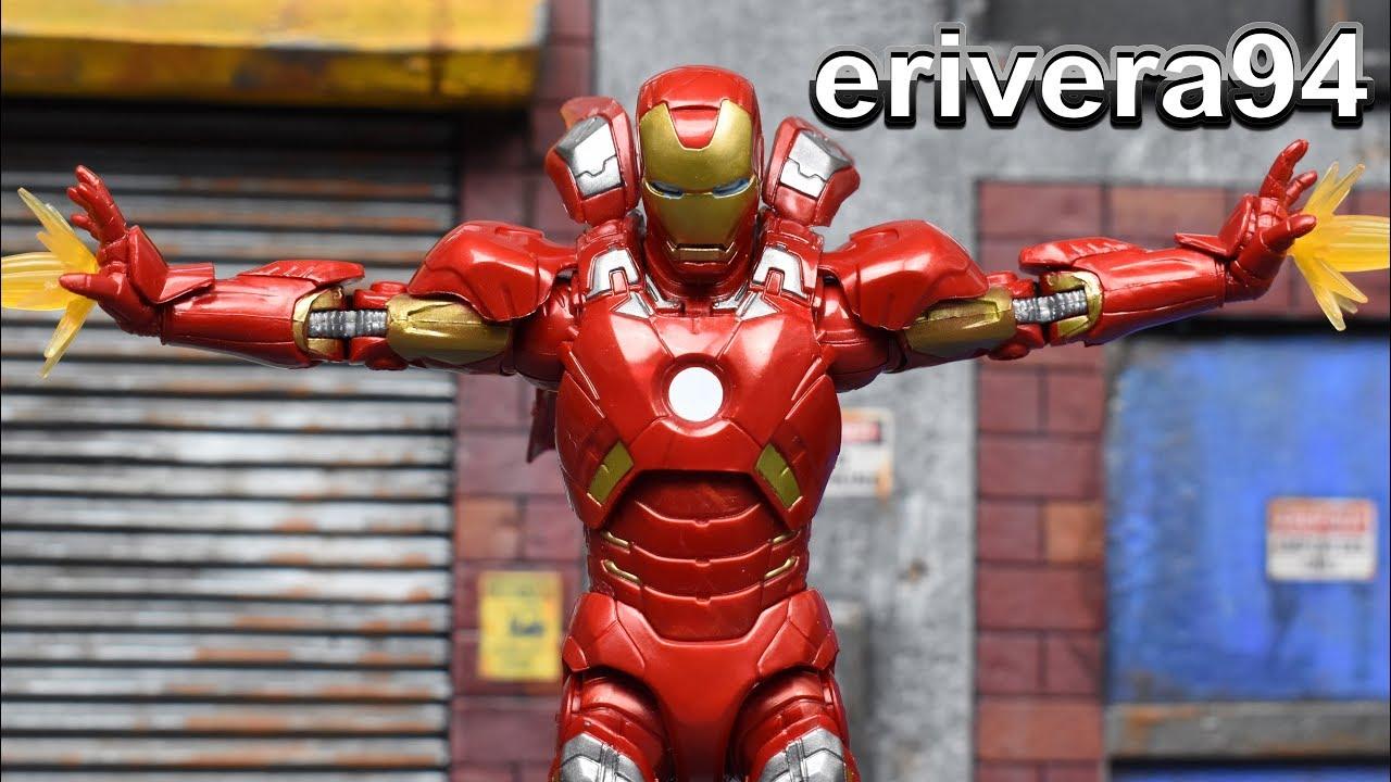 Marvel Studios 10th Anniversary Iron Man Mark VII Action Figure