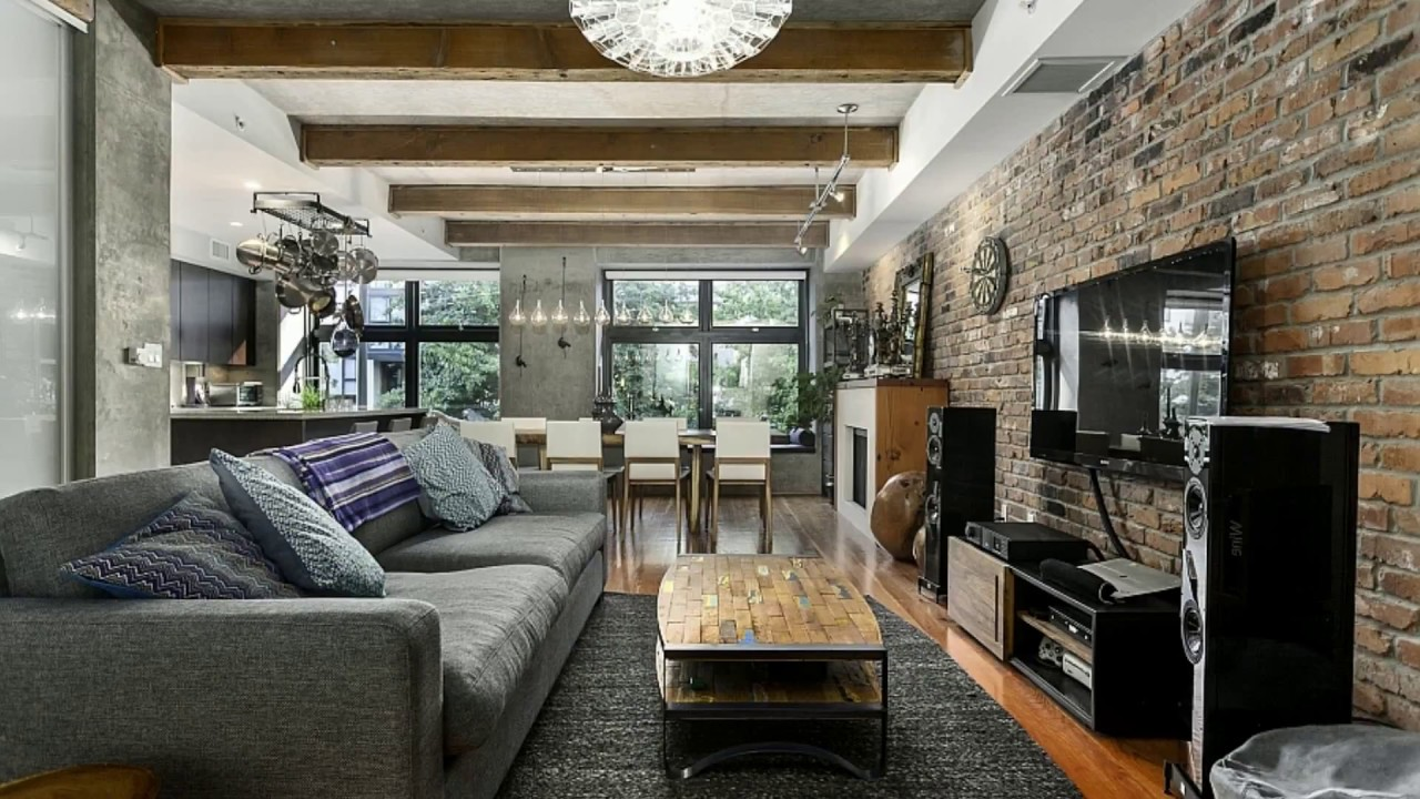 Industrial Small Apartement Decor Ideas Tour [BEST 2018