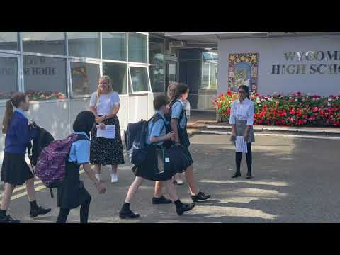 First Day for new Year 7s   HD