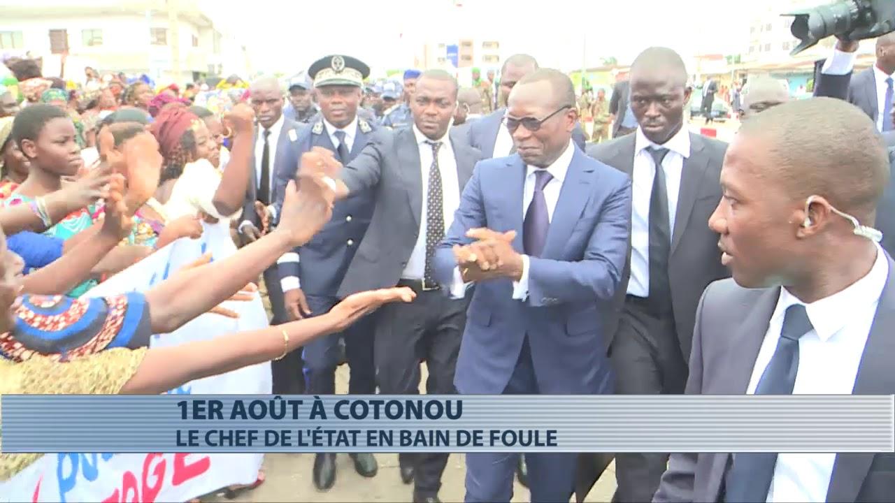 Fête nationale : le président Patrice Talon s'offre un bain de foule à Cotonou