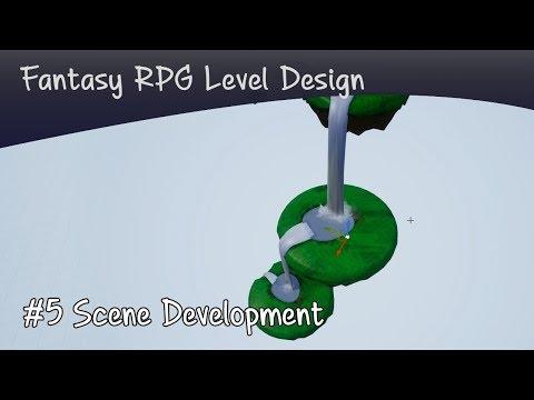 UE4 fantasy level design part 5 | Floating Islands and arrangement