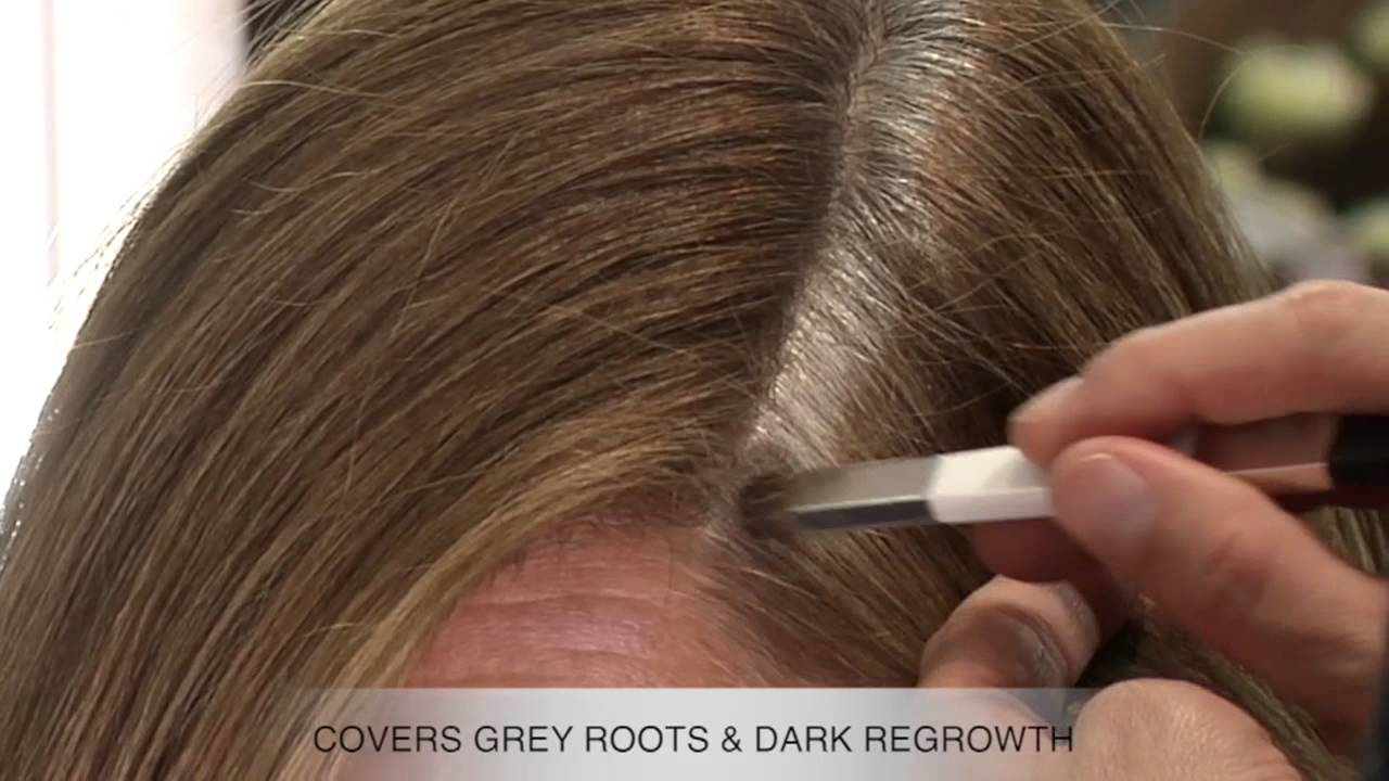 Color Wow Root Cover Up Light Brown Demo Youtube
