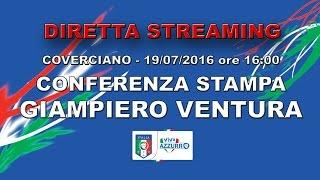 Conferenza stampa presentazione Giampiero Ventura - 19 luglio 2016