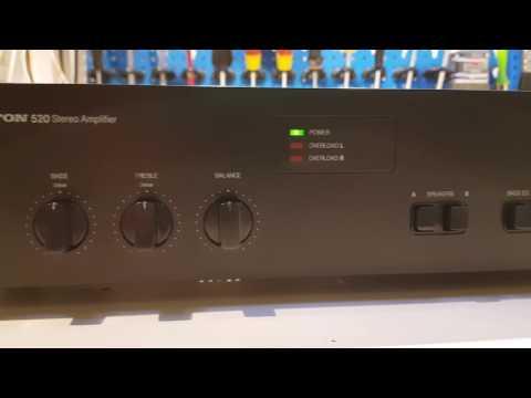 PROTON 520 amplifer High fidelity test