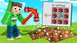 *EXPLOSIVE* TNT Pickaxe DESTROYS EVERYTHING! (Minecraft)