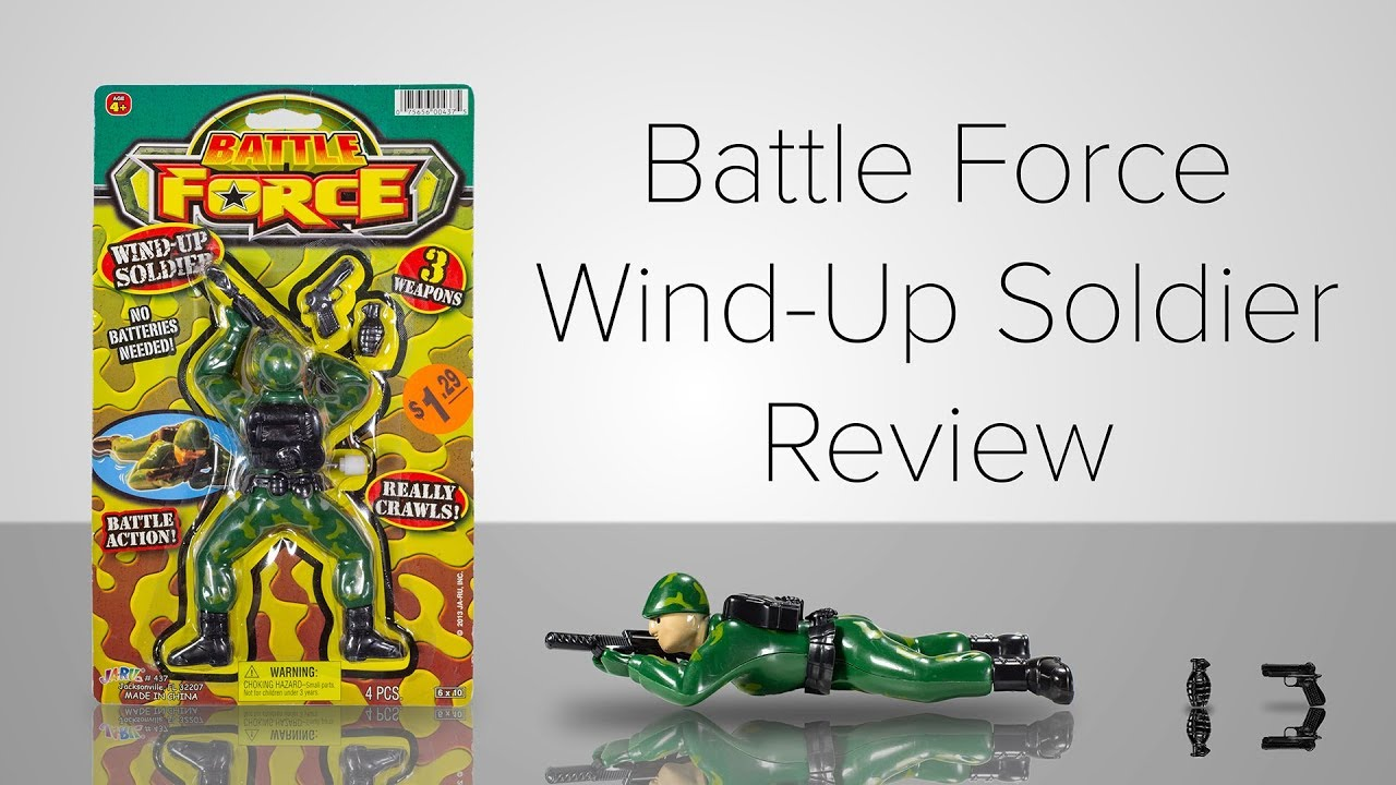 Battle Force Wind Up Soldier Review