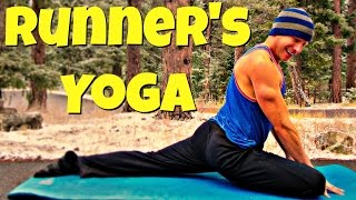 Full Yoga for Runners & Athletes Flow - 25 Min Post Run Routine #runnersyoga #yogaforrunners