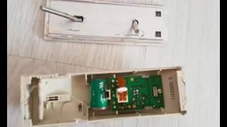 Techem Twintech Optica Dismount and internals