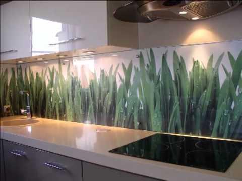 Szklane Paneleosłony ścian Szkło Do Kuchni Szkło Z Nadrukiem