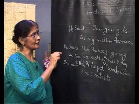 English Grammar - Direct And Indirect Speech