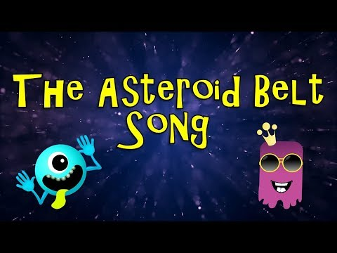 The Asteroid Belt Song | Asteroid Belt Song for Kids | Aster