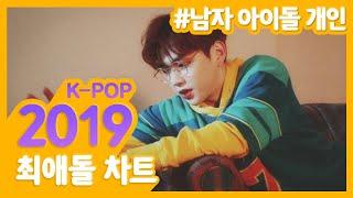 2019 총결산! 남자 아이돌 개인 TOP10 과연 누구?! 최애돌 2019 남자아이돌 순위 | #강다니엘 …