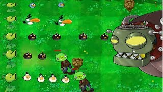 Angry Birds vs Zombies - THE ARDUOUS ADVENTUES OF THE BIRDS WHEN CONFRONTED WITH ZOMBIES !
