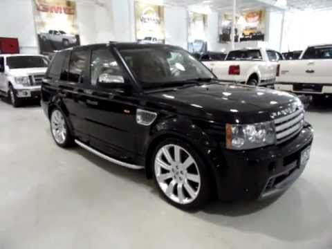 range rover sport supercharged le special edition 2008 youtube. Black Bedroom Furniture Sets. Home Design Ideas