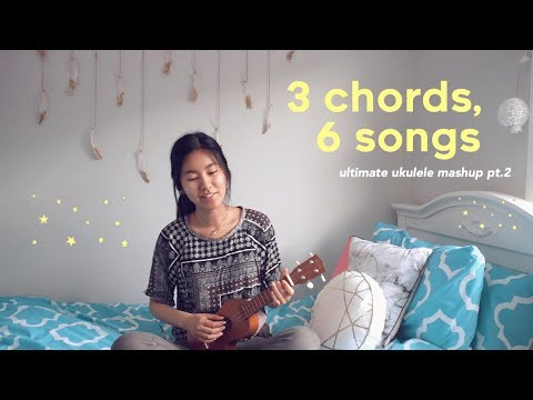 3 Chords, 6 Songs (Ultimate Ukulele Mashup pt.2) 🎵