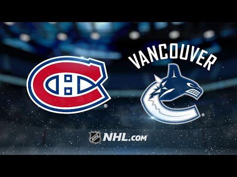 Canadiens Edge Canucks In Wild Contest, 7-5