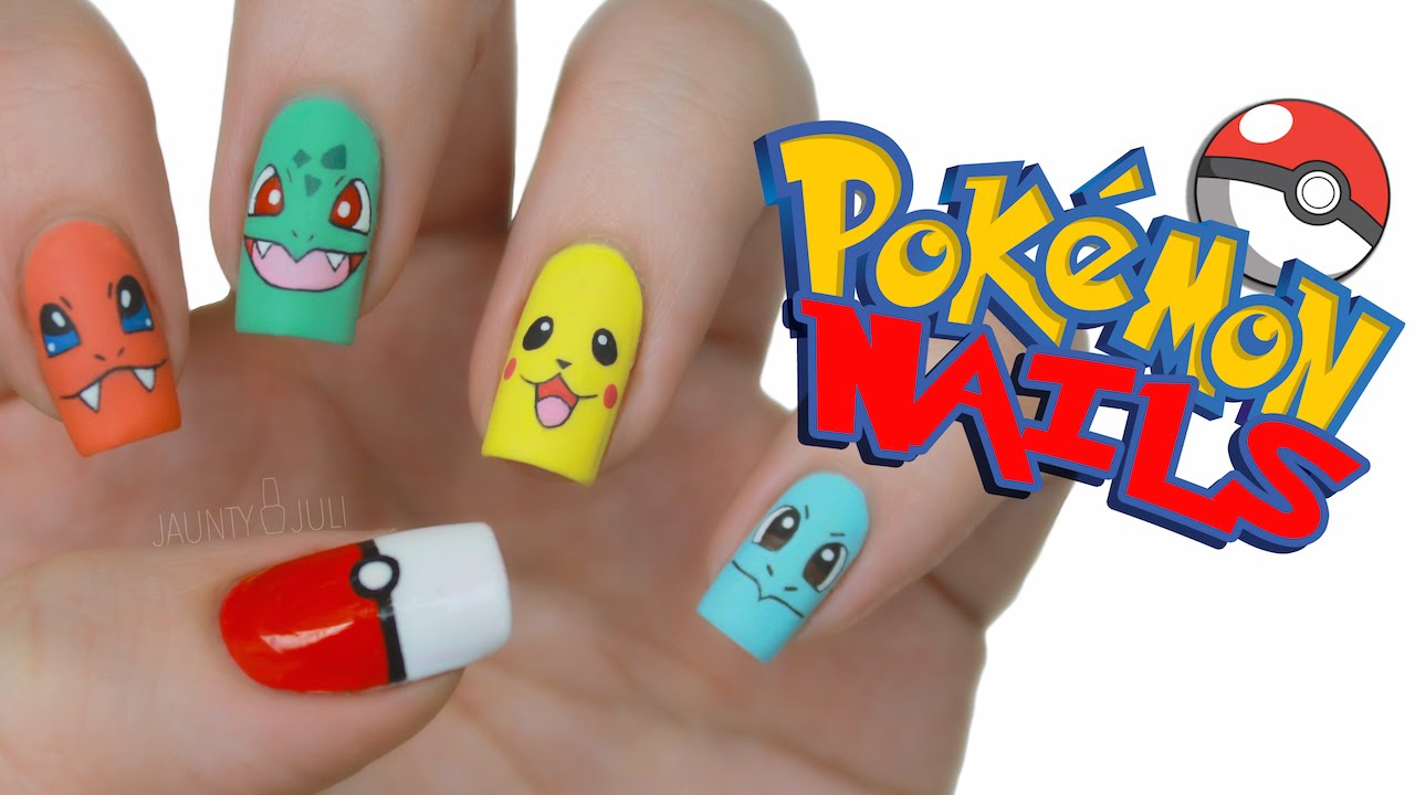 Pokmon Nail Art Youtube