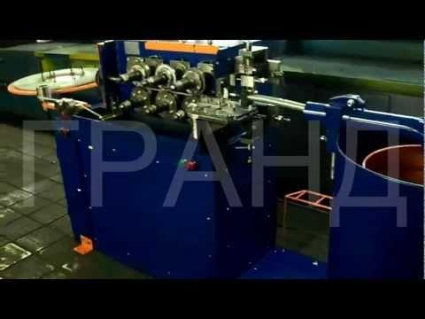 видео: Станок для изготовления металлорукавов типа Р3