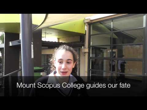 Explanation of the Mount Scopus school song
