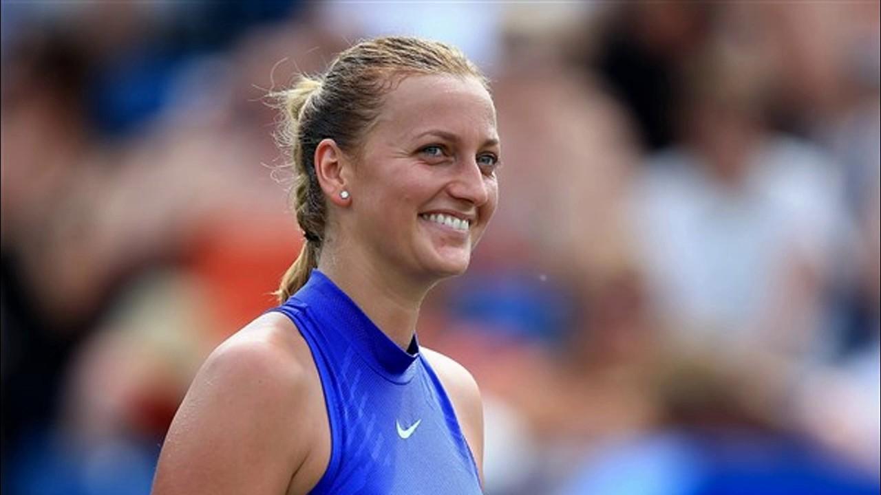 Petra Kvitova vs Ashleigh Barty Aegon Classic tennis ...
