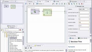 Decision Trees using RapidMiner