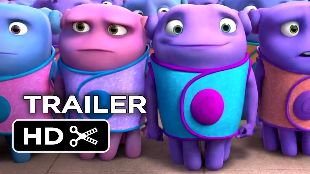 home official trailer 2 2015 jim parsons rihanna animated