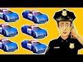 Desenhos animados COMPLETO 30 MIN. Desenhos de carro de polícia. Carro polícia infantil Carrinho