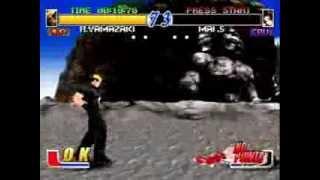Fatal Fury: Wild Ambition (PlayStation) Arcade as Ryuji Yamazaki