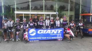 Giant Bicycle's Kuching- Taiwan Ride Tour 2015