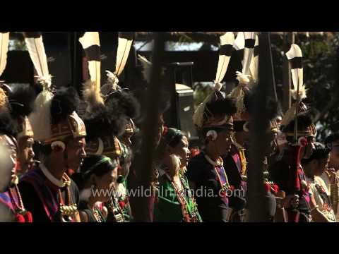 Tribal people singing folk songs