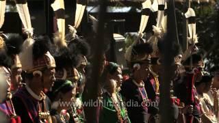 Tribal people singing folk songs