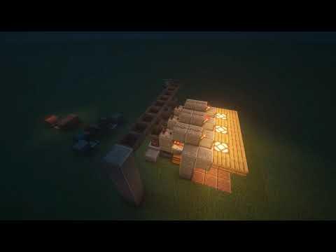 Minecraft Automation (마인크래프트 자동화) Hopper Item Sorter (호퍼 아이템 분류기) Shortcut (단편)