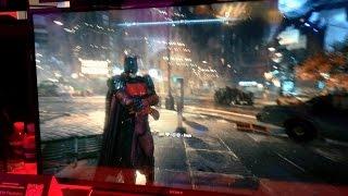 Batman: Arkham Knight (PS4) - Gameplay da Demo da E3 2015
