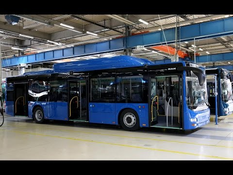 MAN-ის ახალი ავტობუსები თბილისში