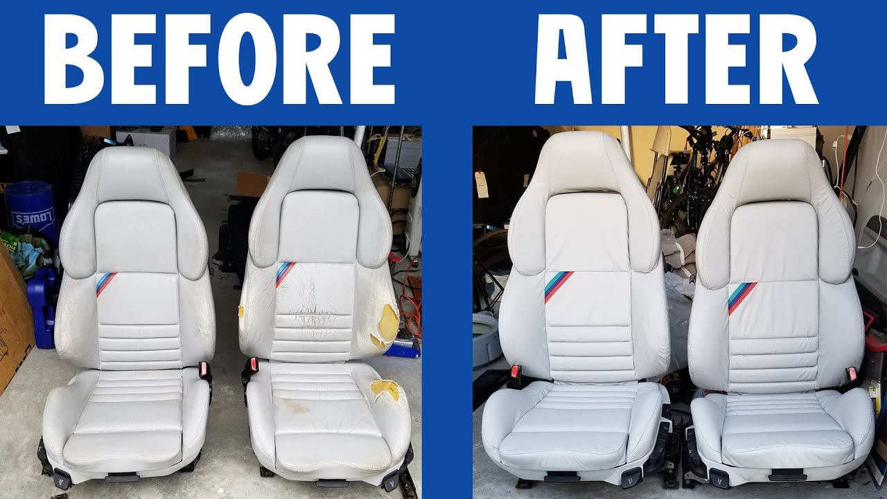 Bmw E36 M3 Vader Seats Before And After Youtube