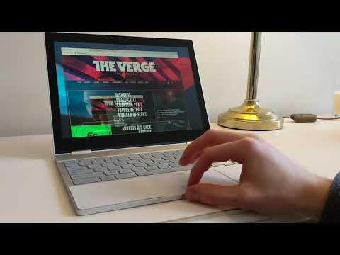 Chrome OS 77 - Virtual Desktop GESTURES - First Look!!