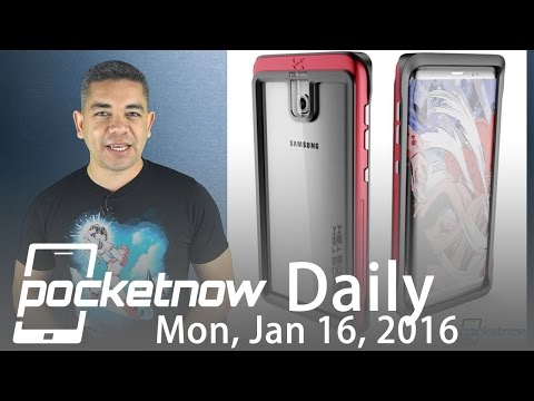 Samsung Galaxy S8 Edge case render leaks, Apple's $1 trillion & more - Pocketnow Daily