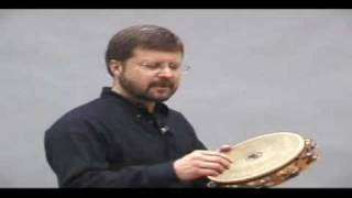 Christopher Deane tambourine demonstration