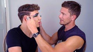 My hot neighbor does my makeup | Marvyn Macnificent, Adam Senn