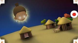 このお話は、バムコという美しい女性の物語です。バムコは、月がなく真...