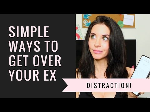 simple ways to get over your ex!