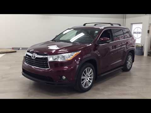 2015 Toyota Highlander XLE Review