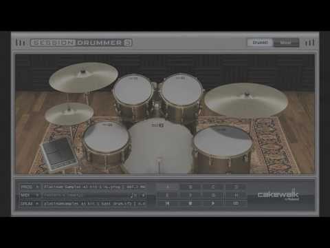 Platinum Samples: Andy Johns Kit 1 For Session Drummer 3 (Metal Demo)