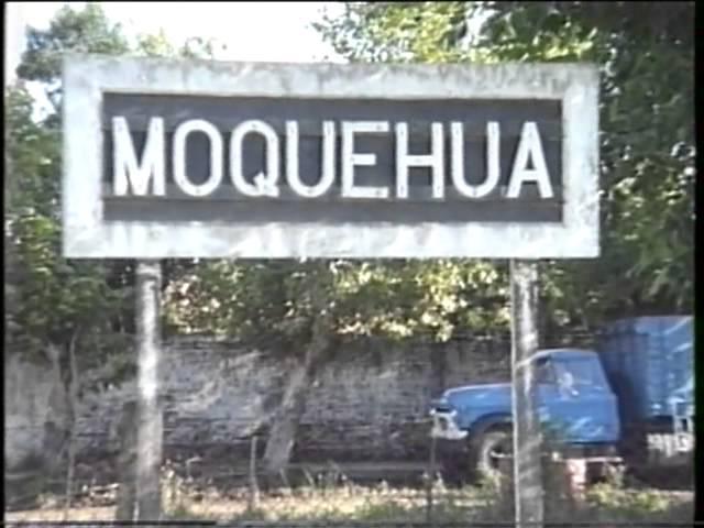 Ferrocarriles Argentinos - Moquehua 1989