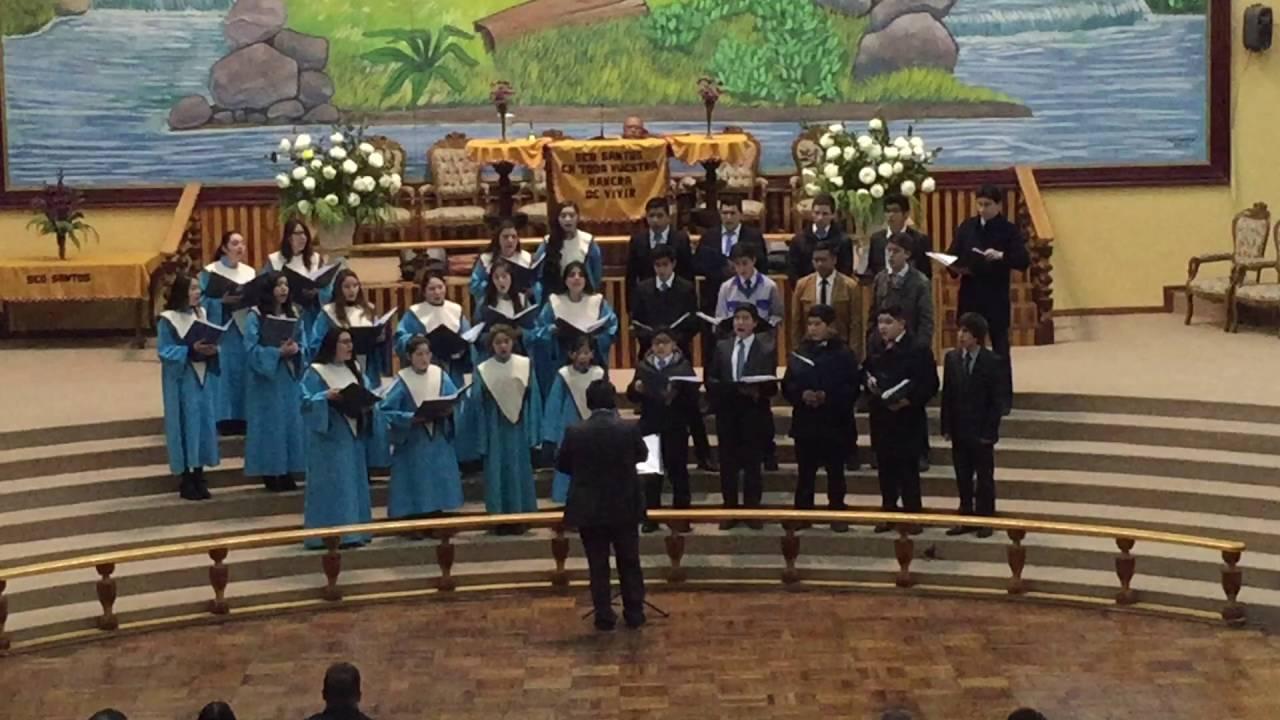Mi Dios es Jehova - Coro Juvenil IEP San Bernardo - YouTube